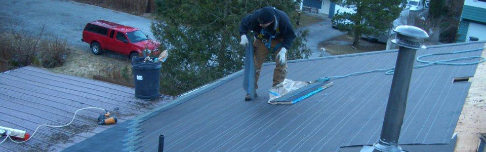 Squamish Roofers - Slide Residential 1
